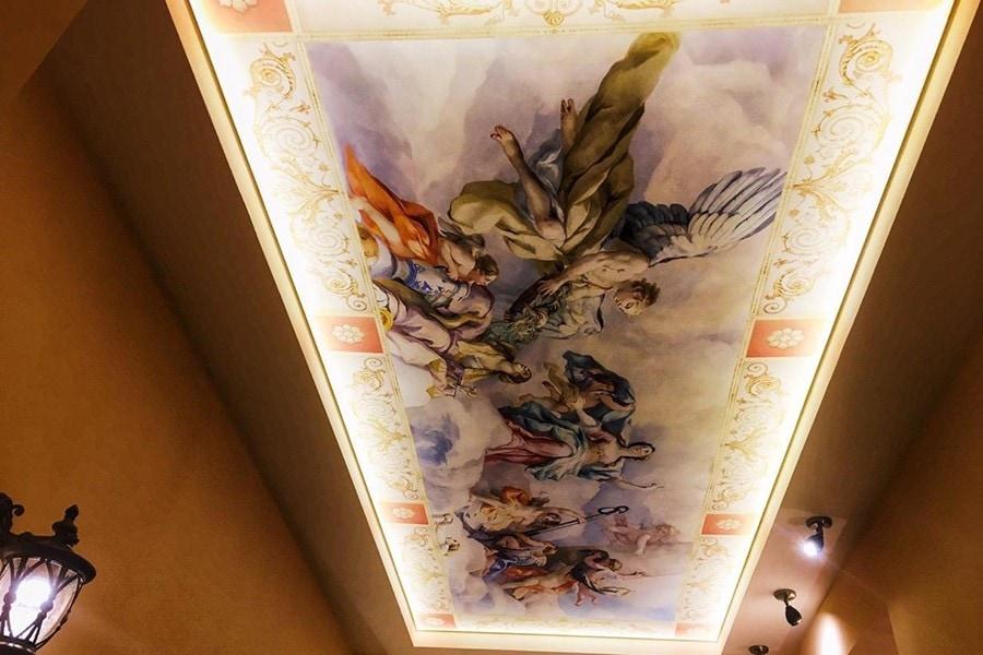Натяжные потолки с фотопечатью Воронеж