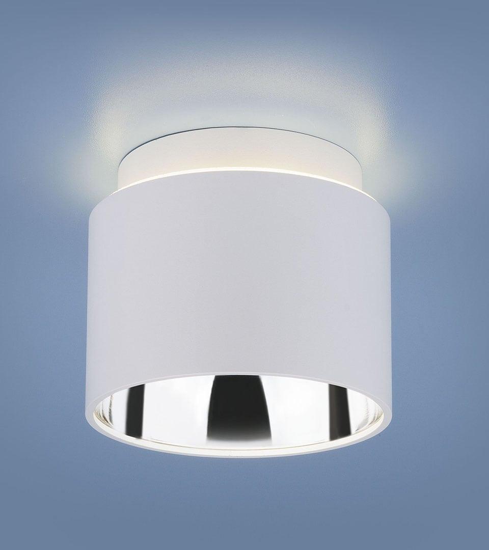 Накладной потолочный светильник 1069 GX53 WH белый матовый 2