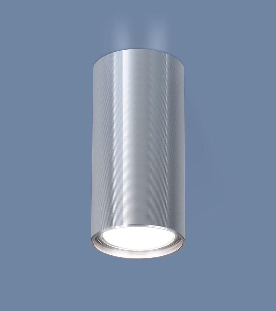 Накладной точечный светильник 1081 GU10 SCH сатин хром 1