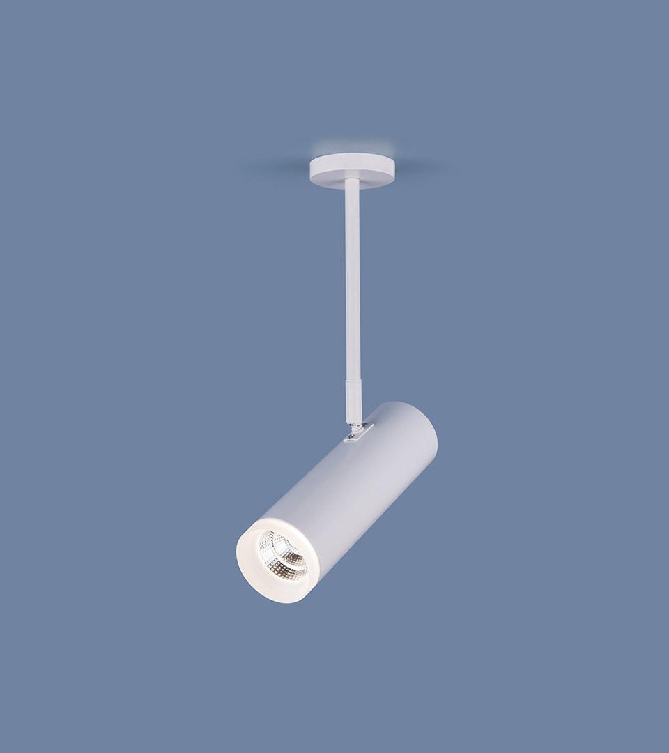 Накладной потолочный светильник DLS022 9W 4200K белый матовый 3