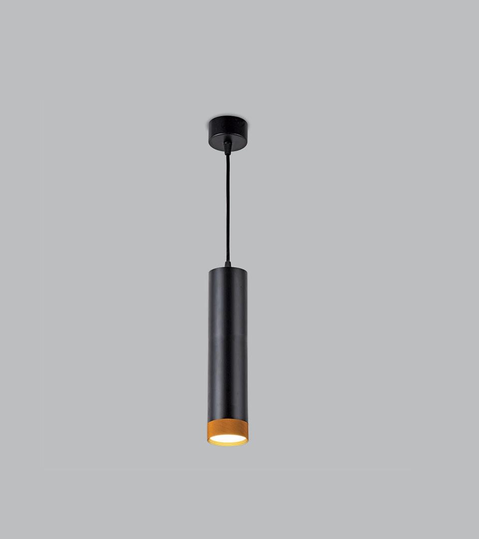 Подвесной светодиодный светильник  50164/1 LED черный/золото 1
