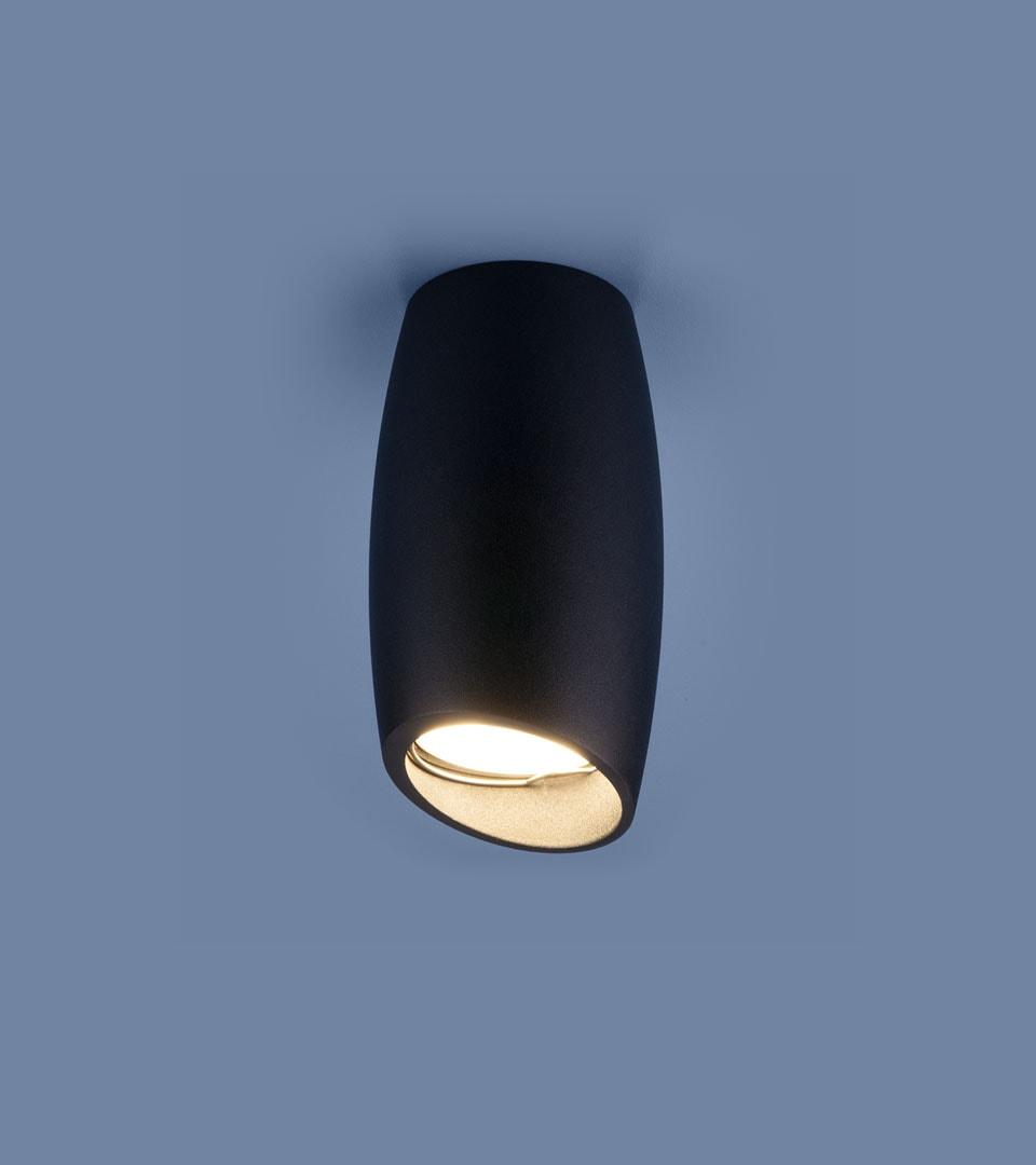 Накладной потолочный светильник DLN002 MR16 BK черный 2