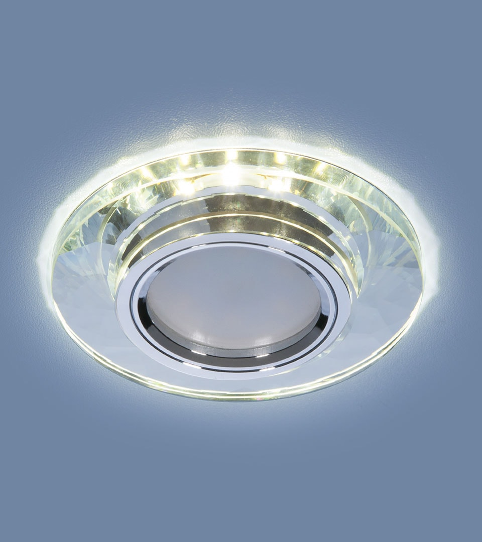Встраиваемый потолочный светильник со светодиодной подсветкой 2228 MR16 4