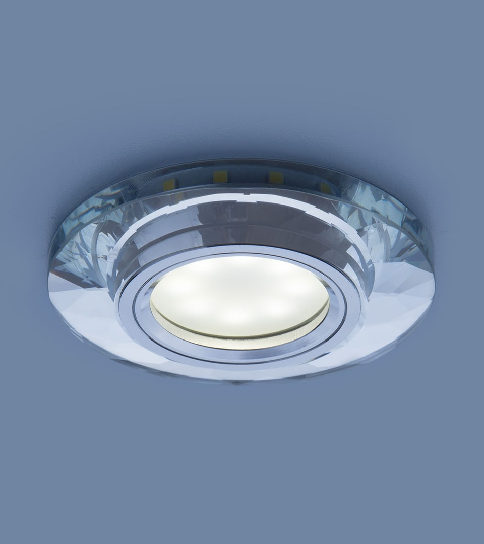 Встраиваемый потолочный светильник со светодиодной подсветкой 2228 MR16 2