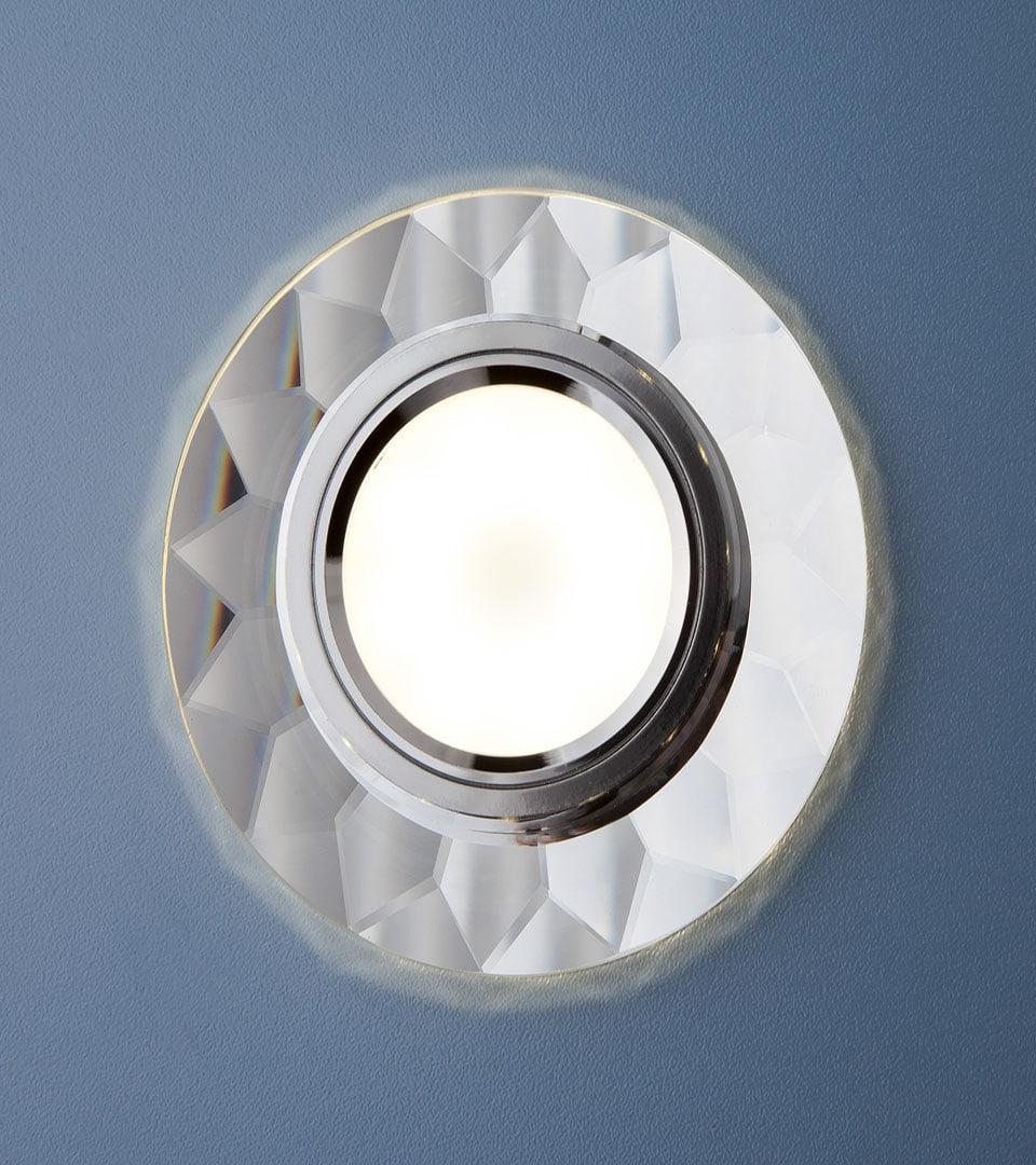 Встраиваемый потолочный светильник со светодиодной подсветкой 2228 MR16 1