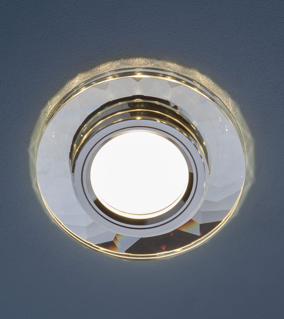 Встраиваемый потолочный светильник со светодиодной подсветкой 2228 MR16 5