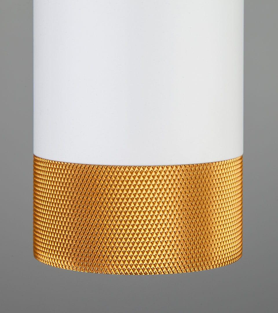 Подвесной светодиодный светильник 50164/1 LED белый/золото 2