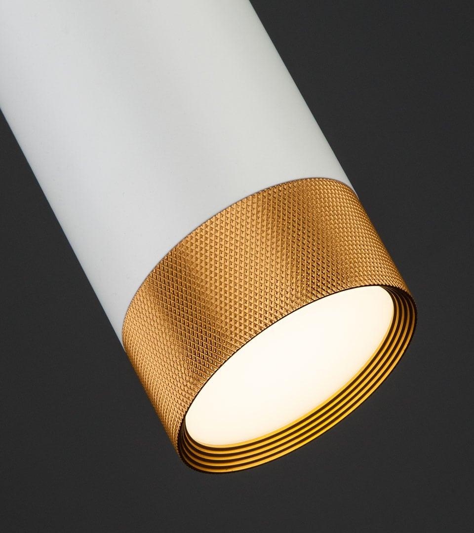 Подвесной светодиодный светильник 50164/1 LED белый/золото 1