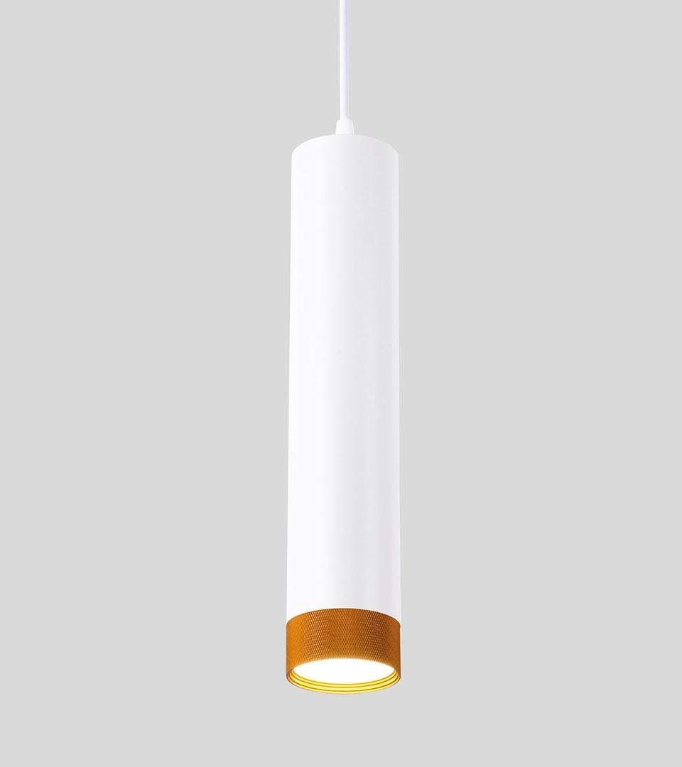 Подвесной светодиодный светильник 50164/1 LED белый/золото 3