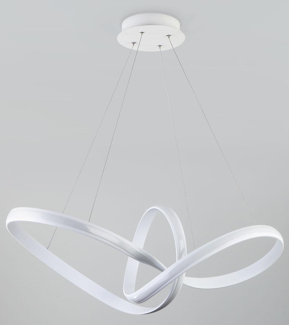 Подвесной светодиодный светильник 90174/1 белый 5