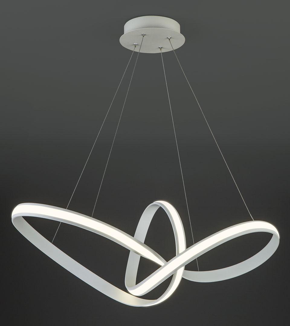 Подвесной светодиодный светильник 90174/1 белый 2