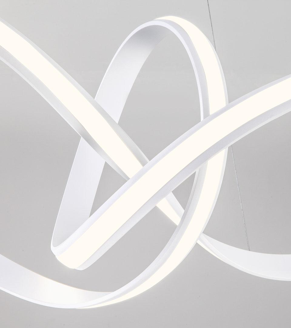 Подвесной светодиодный светильник 90174/1 белый 3