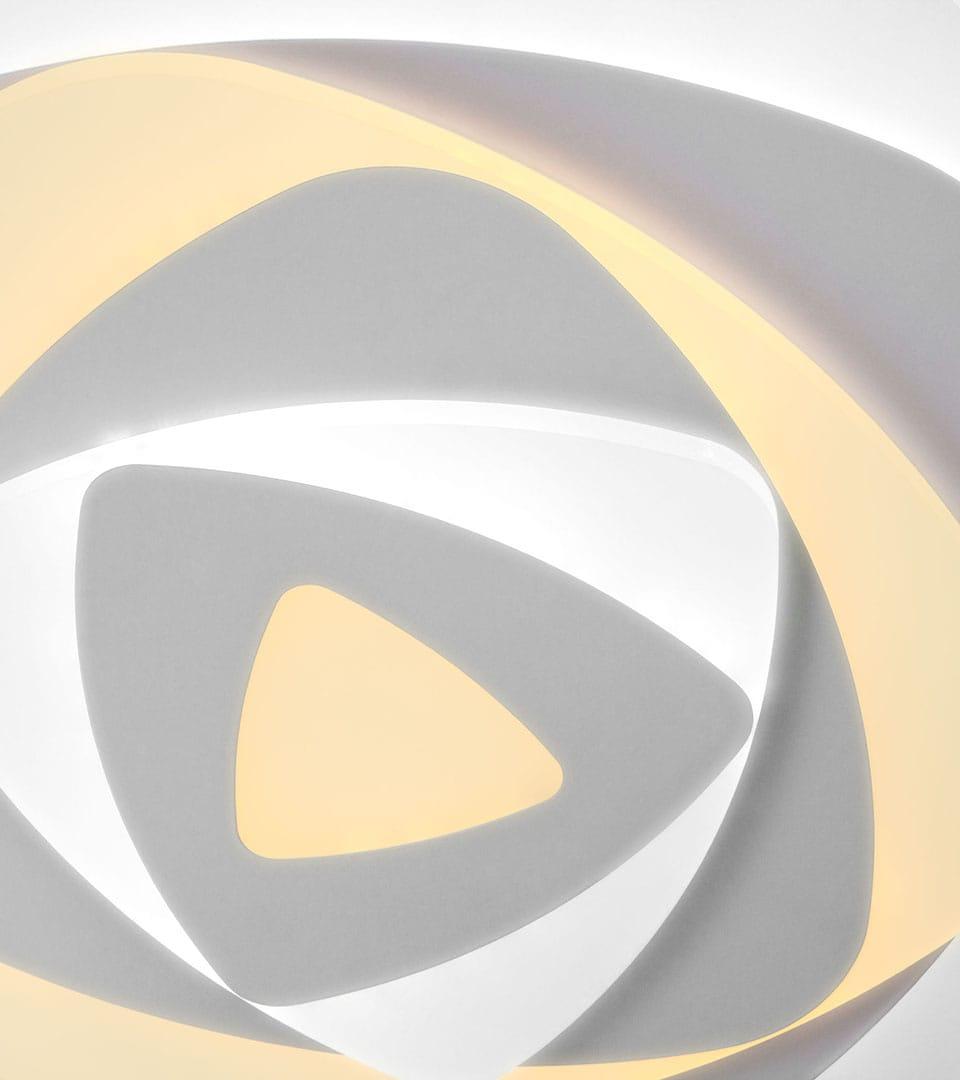Светодиодный потолочный светильник с пультом управления 90212/1 белый 3