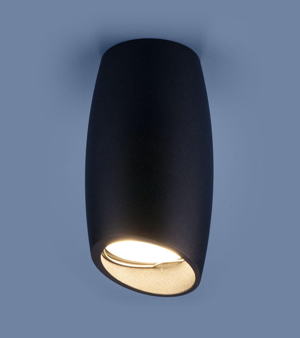 Накладной потолочный светильник DLN002 MR16 BK черный 1
