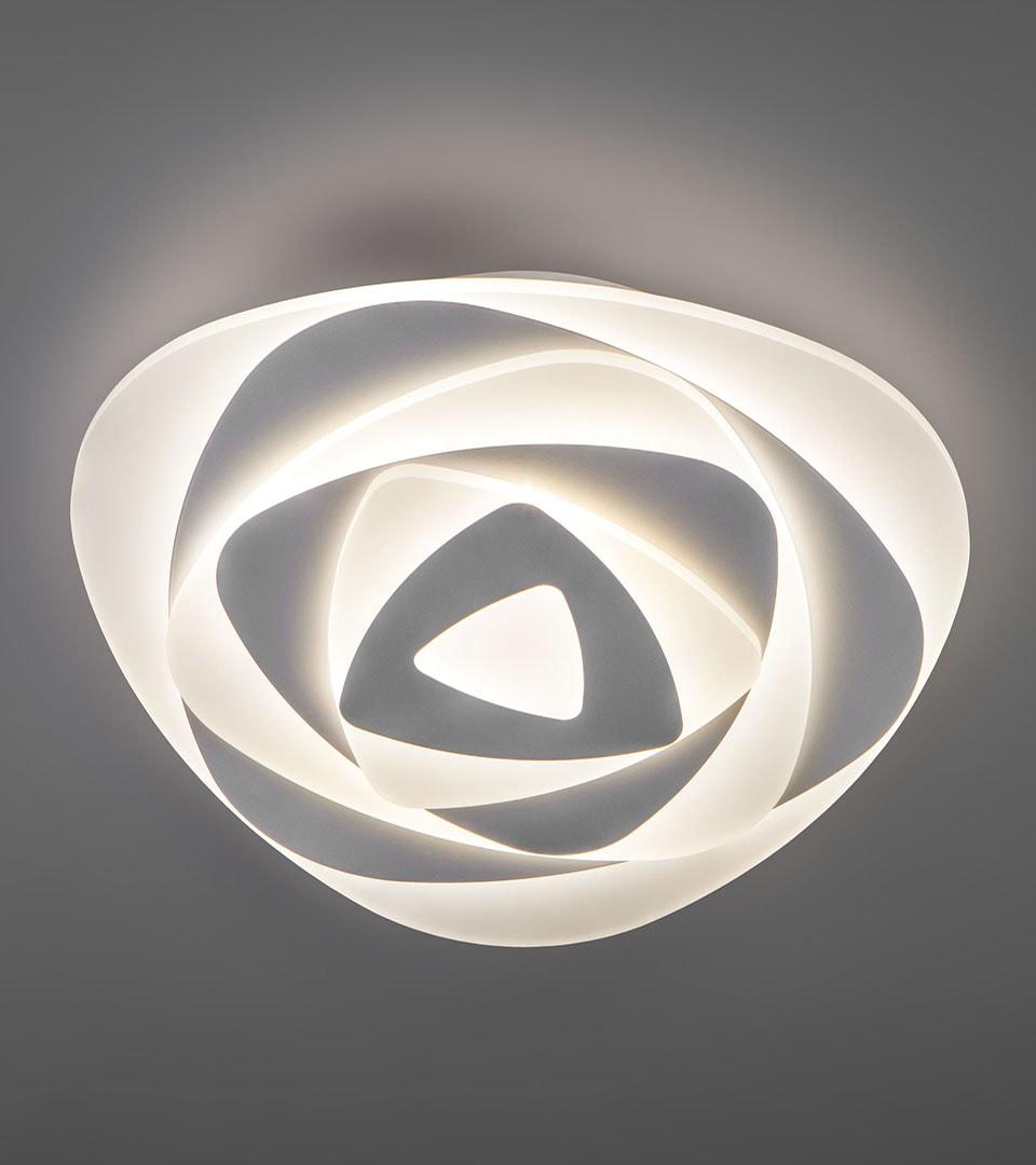 Светодиодный потолочный светильник с пультом управления 90212/1 белый 4