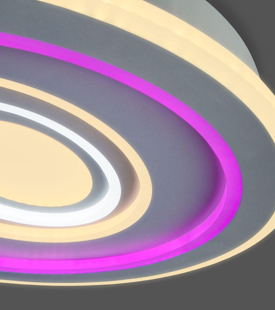 Потолочный светодиодный светильник с пультом управления 90214/1 1