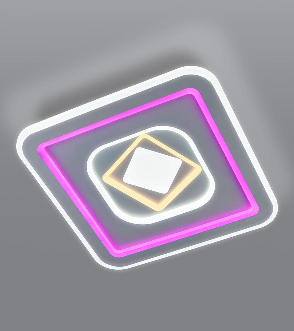 Потолочный светодиодный светильник с пультом управления 90215/1 4