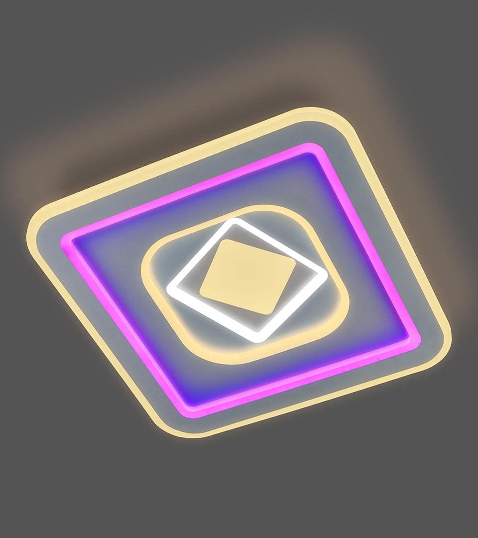 Потолочный светодиодный светильник с пультом управления 90215/1 3