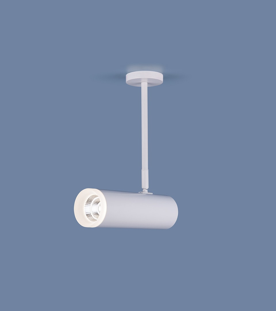 Накладной потолочный светильник DLS022 9W 4200K белый матовый 2
