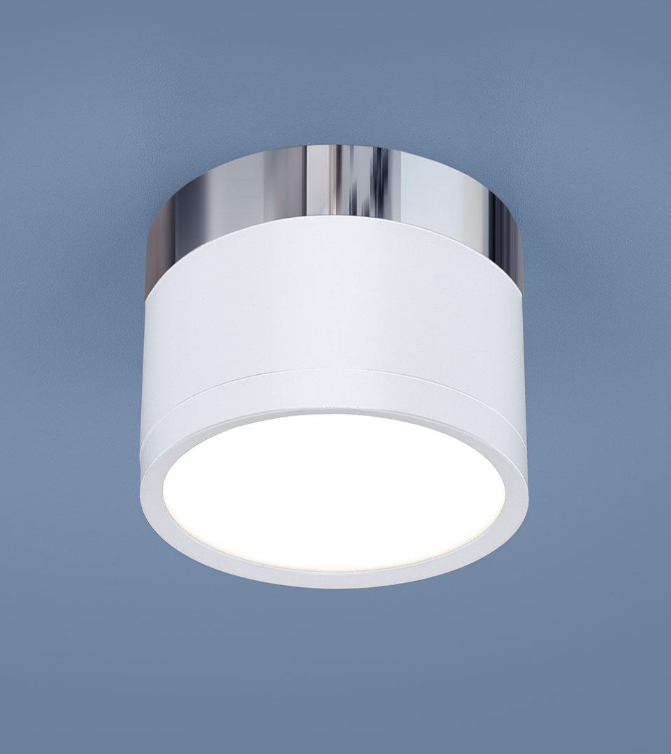 Накладной потолочный светодиодный светильник DLR028 10W 4200K 1