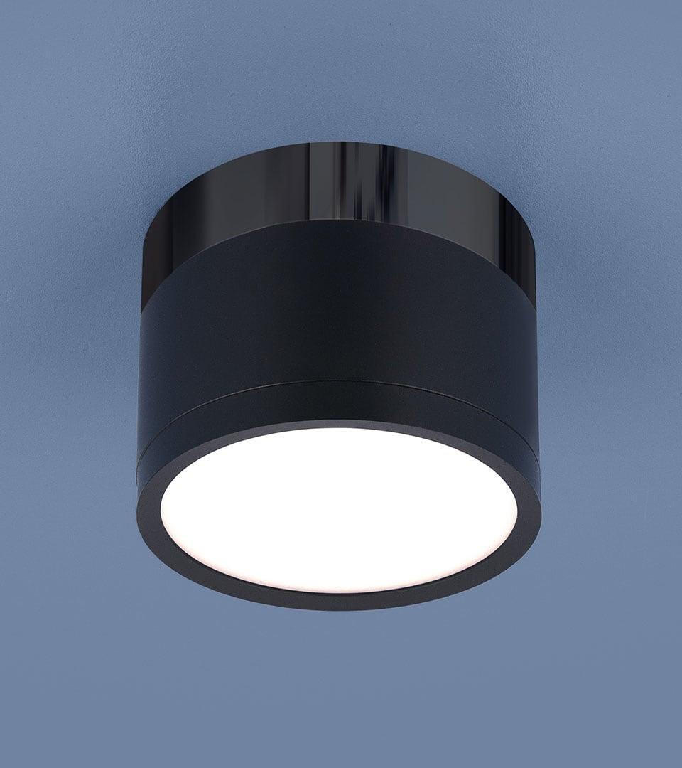 Накладной потолочный светодиодный светильник DLR029 10W 4200K 1