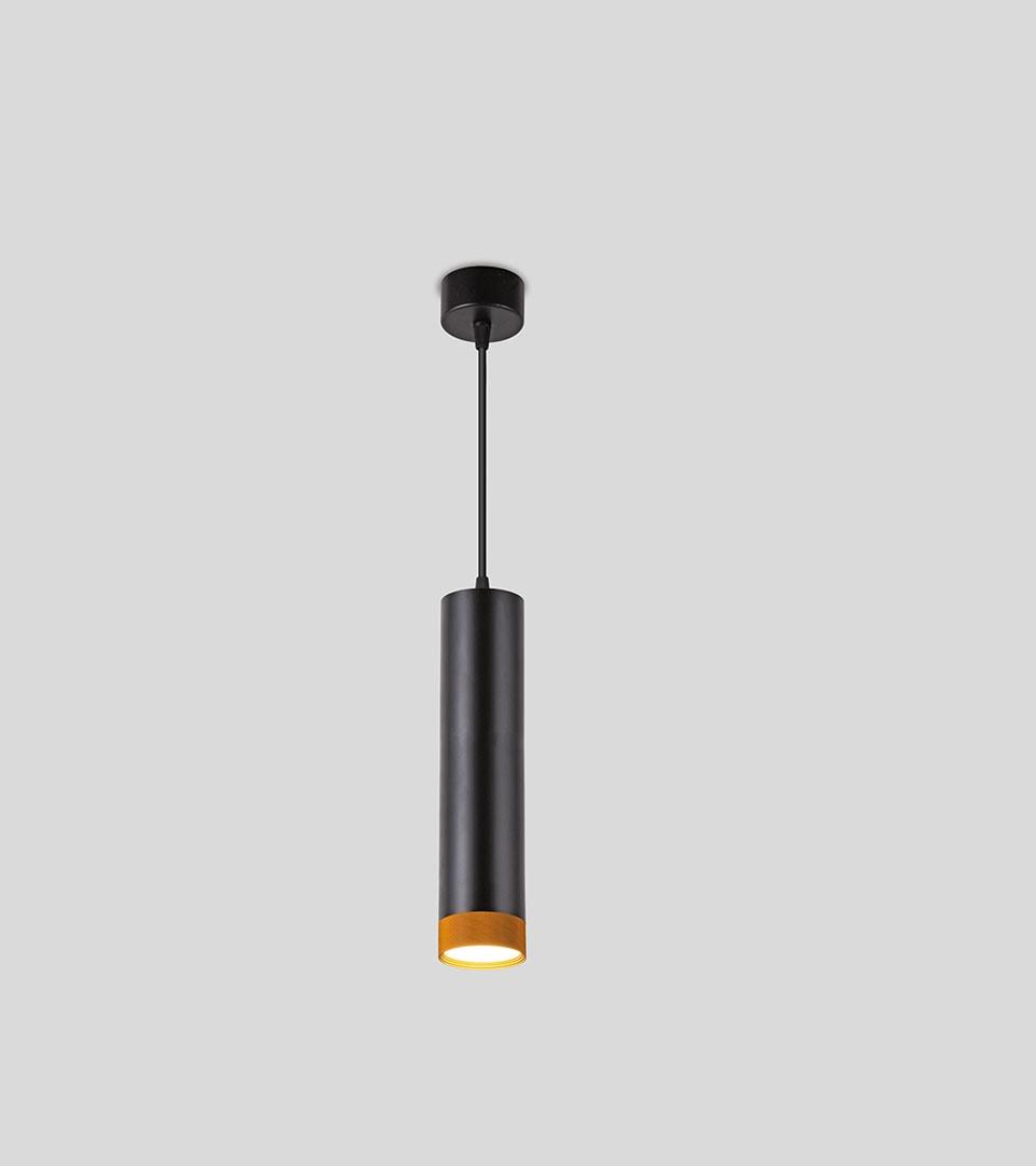 Подвесной светодиодный светильник 50164/1 LED черный/золото 5