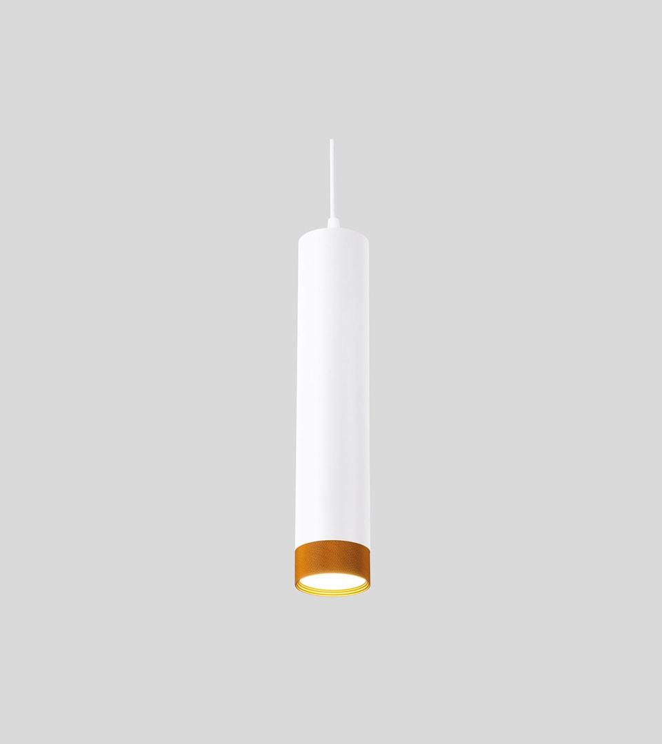 Подвесной светодиодный светильник 50164/1 LED белый/золото 4