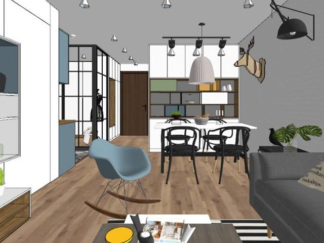 Дизайн натяжных потолков 3