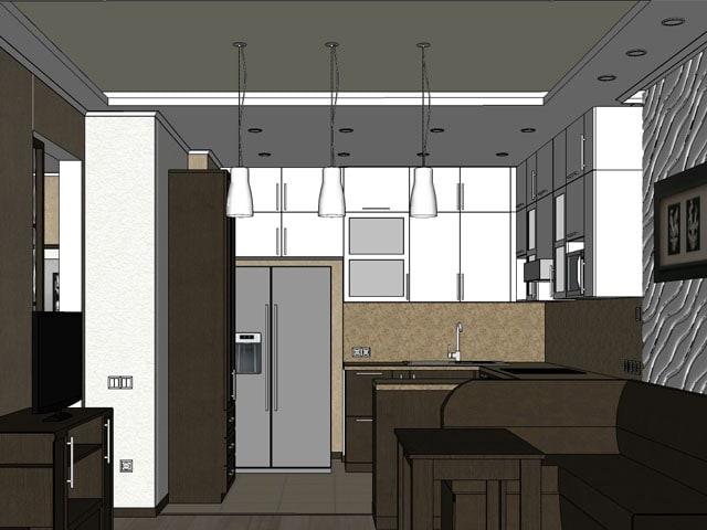 Дизайн натяжных потолков 2