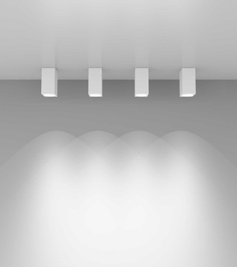 Накладной потолочный светильник 1085 GU10 2
