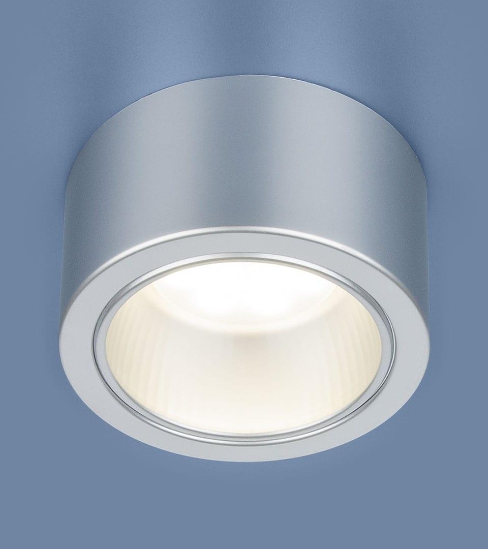 Накладной точечный светильник 1070 GX53 SL серебро 1