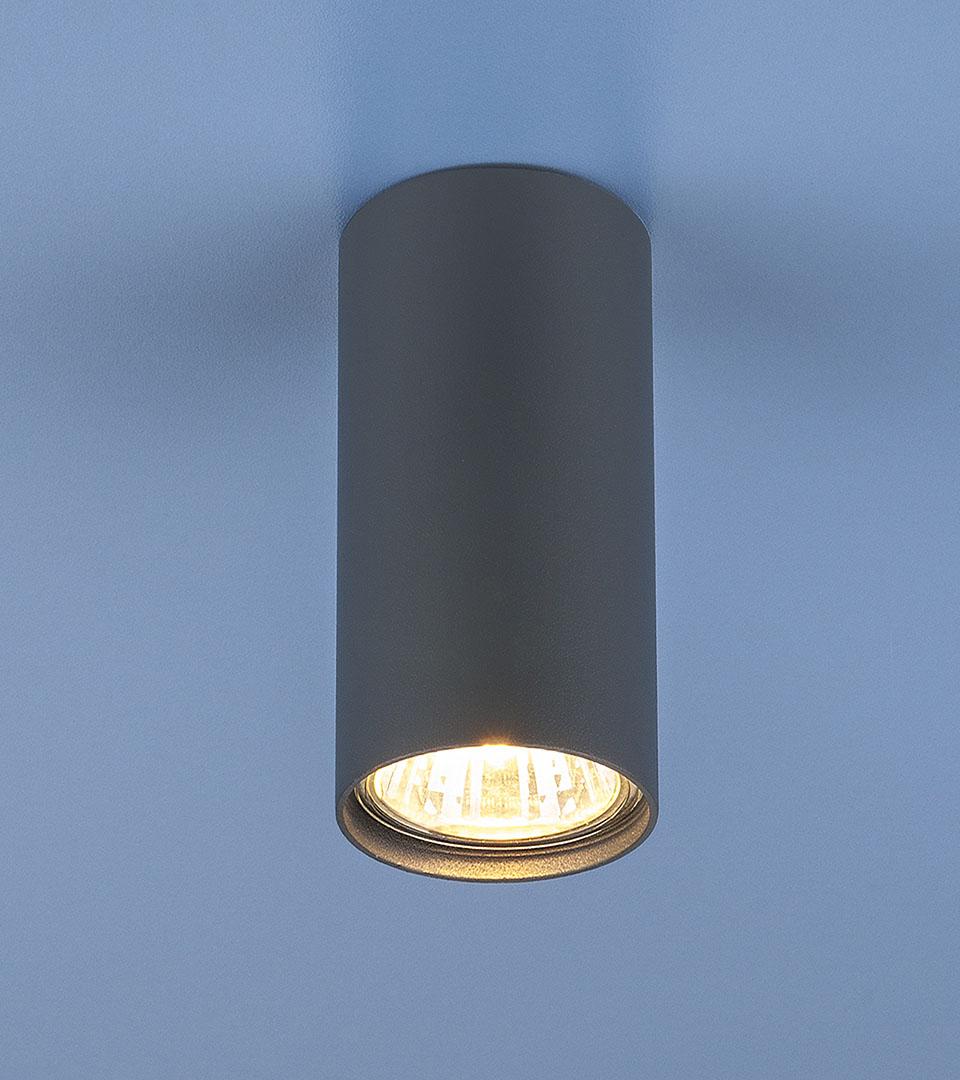 Накладной точечный светильник 1081 5256 GU10 GR графит 1