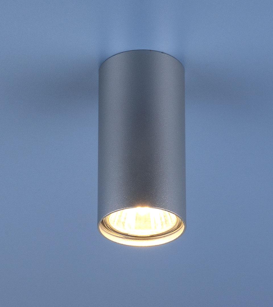 Накладной точечный светильник 1081 5257 GU10 SL серебряный 1