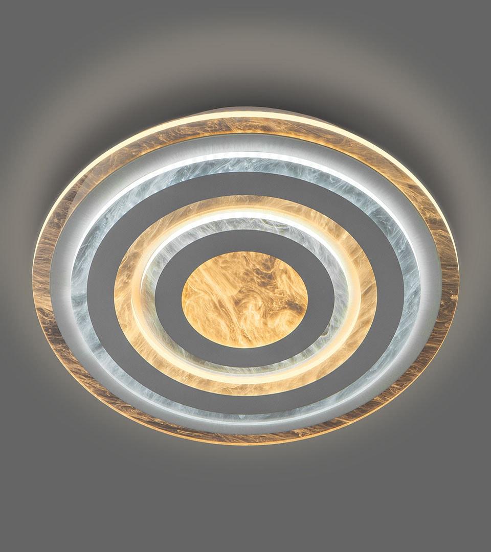 Потолочный светодиодный светильник с пультом управления 90209/1 белый 4
