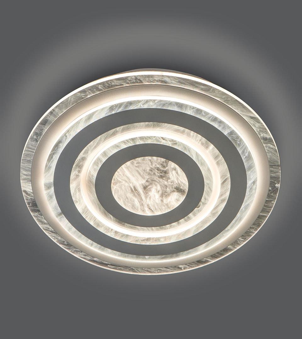 Потолочный светодиодный светильник с пультом управления 90209/1 белый 3