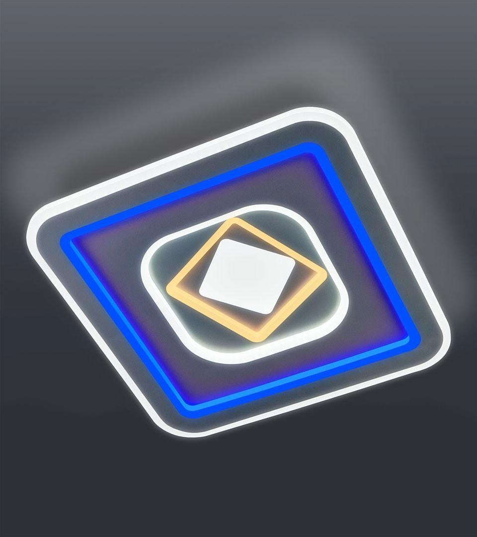 Потолочный светодиодный светильник с пультом управления 90215/1 1