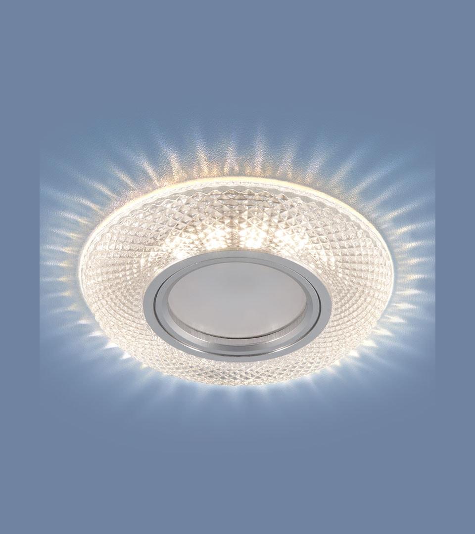 Встраиваемый точечный светильник со светодиодной подсветкой 2238 MR16 CL 3