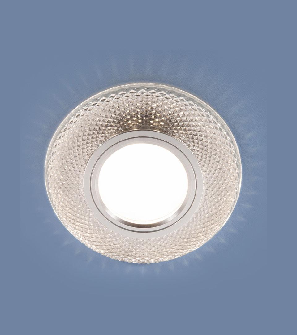 Встраиваемый точечный светильник со светодиодной подсветкой 2238 MR16 CL 4
