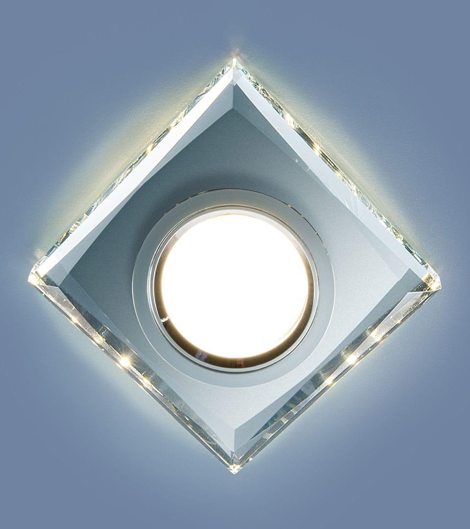Встраиваемый потолочный светильник со светодиодной подсветкой 2230 MR16 6