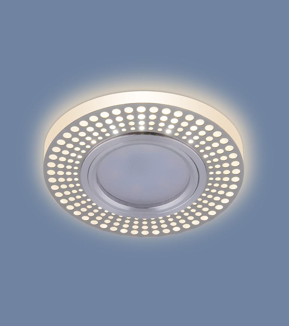 Встраиваемый потолочный светильник со светодиодной подсветкой 2231 MR16 3