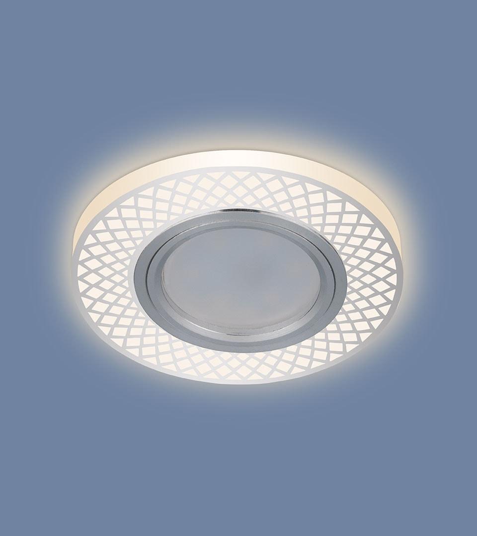 Встраиваемый потолочный светильник со светодиодной подсветкой 2232 MR16 1