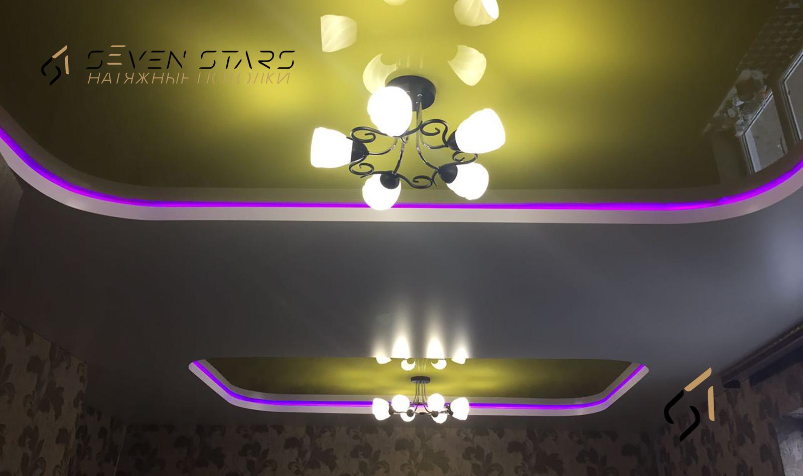 Двухуровневые потолки 6