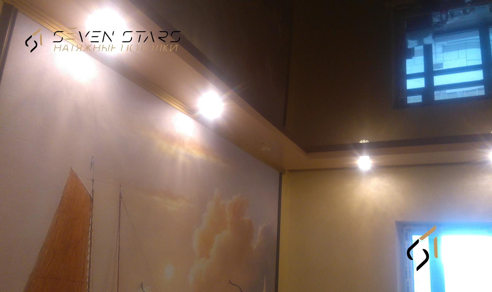 Галерея двухуровневых потолков 9