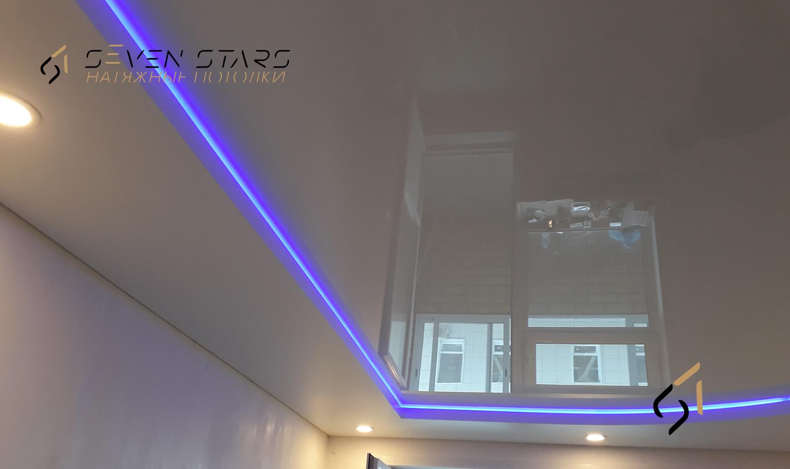 Двухуровневые потолки 50