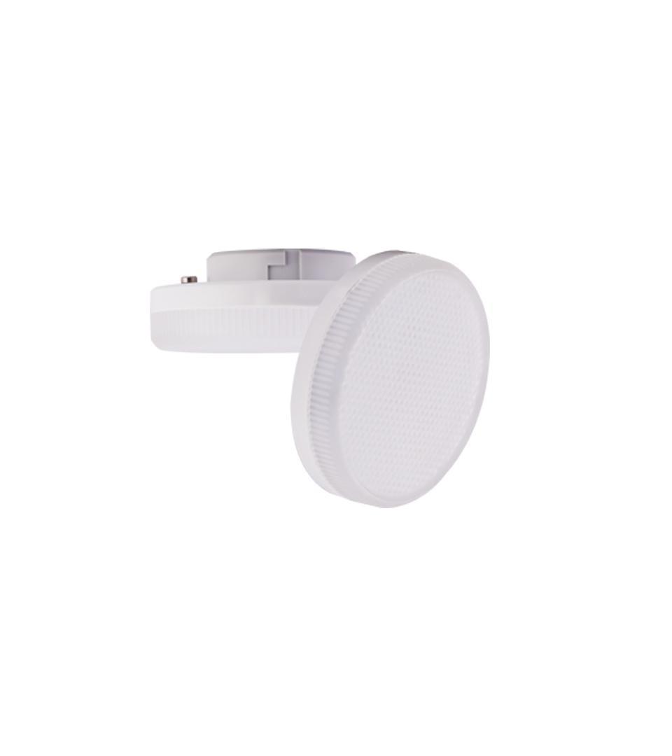 Ecola Light GX53 LED 6.0W Tablet 220V 6400K 27x75 матовое стекло 30000h 1