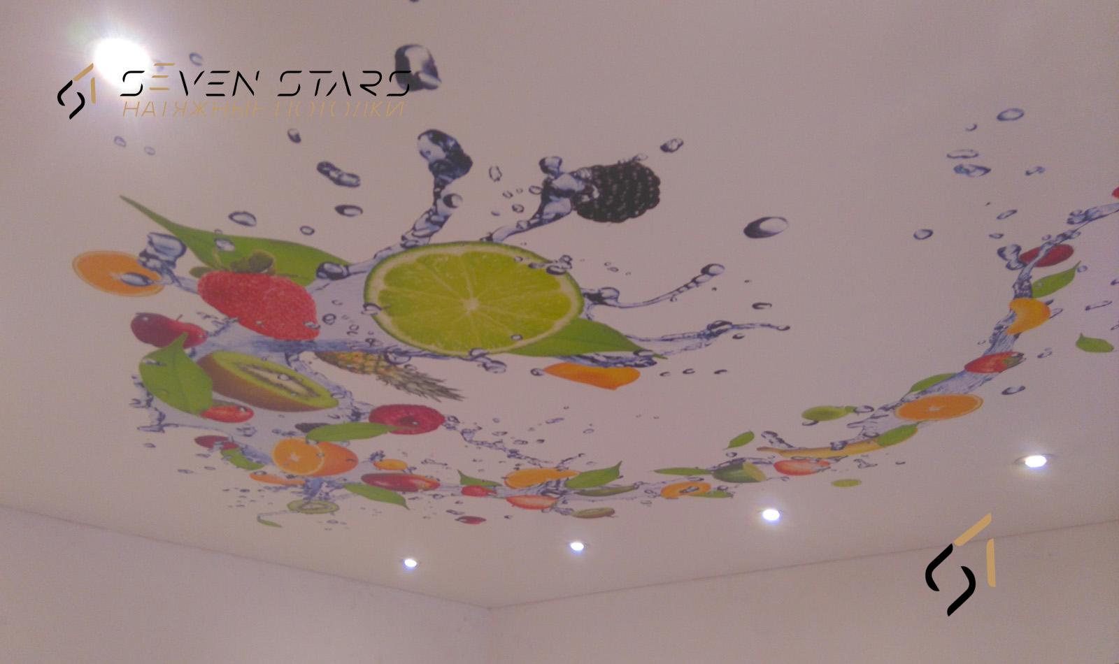Галерея потолков с фотопечатью 2