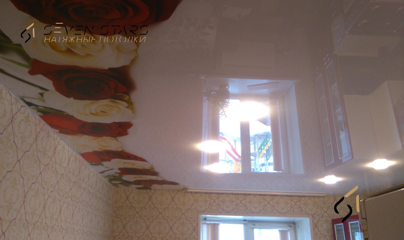 Потолки с фотопечатью 42