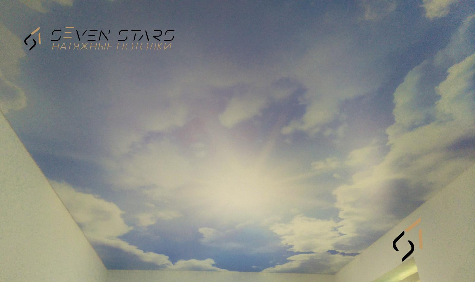 Галерея потолков с фотопечатью 9