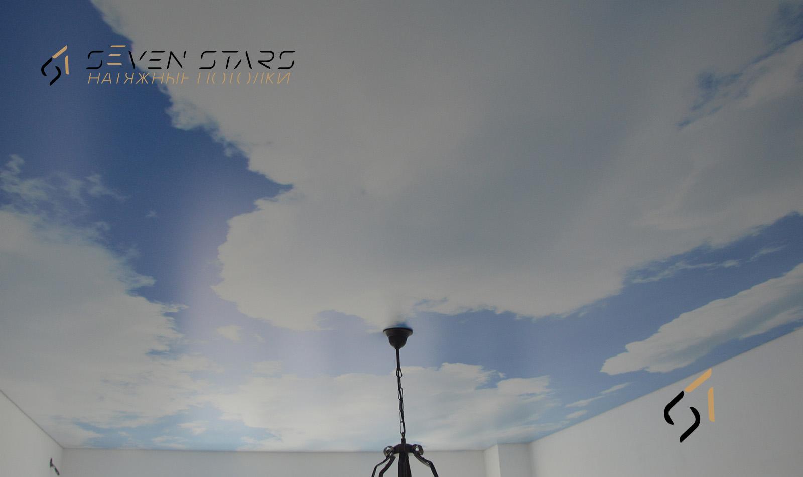 Потолки с фотопечатью 52