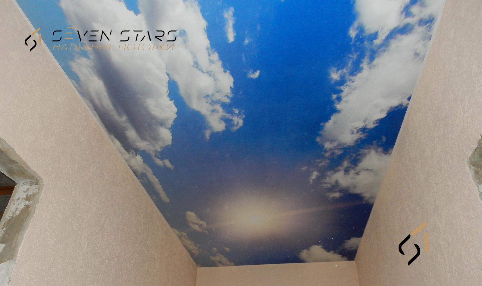 Потолки с фотопечатью 24